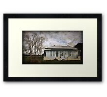 This Old House ~ Framed Print