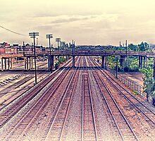 Birmingham Rails East by Phillip M. Burrow