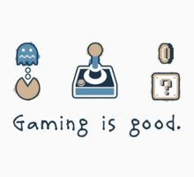 Gaming is good. REMIX Kids Clothes