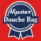 Hipster Douche Bags by slugnola