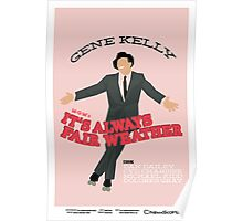 MGM's It's Always Fair Weather Poster