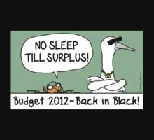 NO SLEEP TILL SURPLUS! by firstdog