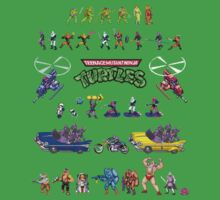 TMNT - Arcade by Greg Little