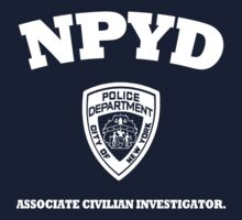 NPYD- Associate Civilian Investigator (White) by Stixanimated