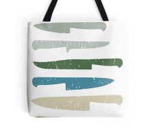 Chef's knives Tote Bag