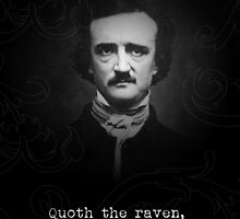 Edgar Allan Poe - The raven by TardMonkey