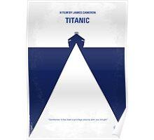 No100 My Titanic minimal movie poster Poster