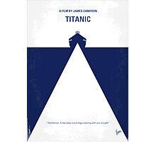 No100 My Titanic minimal movie poster Photographic Print
