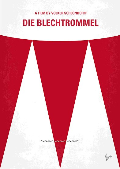 No022 My Die Blechtrommel minimal movie poster by Chungkong