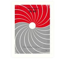 No024 My Dr No James Bond minimal movie poster Art Print