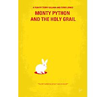 No036 My Monty Python And The Holy Grail minimal movie poster Photographic Print