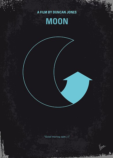 No053 My Moon 2009 minimal movie poster by Chungkong