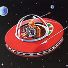FLYING SAUCER by ward-art-studio
