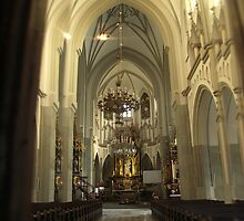 Parish of St. Joseph in Krakow by Adela Jopek