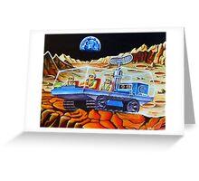 MOON BUGGY Greeting Card
