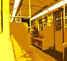 subway pop-art IV by ARTistCyberello