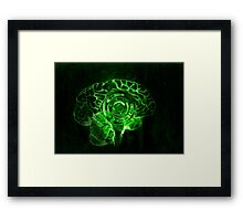 Brain Drop Framed Print
