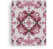 Rococo Pink Rosette- R97 Canvas Print