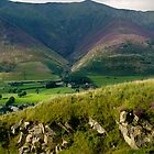 Distant view of Skiddaw by brianhardy247
