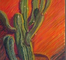 Cactus In (Dry) Heat by Jack Bybee