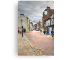 In the Footsteps of Charles Dickens  Canvas Print