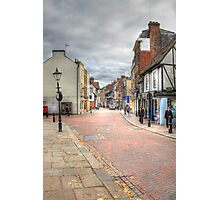 In the Footsteps of Charles Dickens  Photographic Print