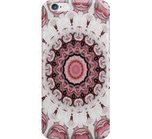 Rococo red Rosette- R104 iPhone Case/Skin