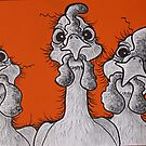 Lookin' Chookens by Sally Ford