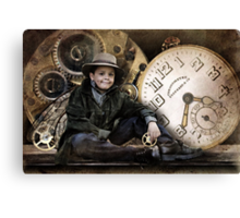 The Little Time Keeper Canvas Print
