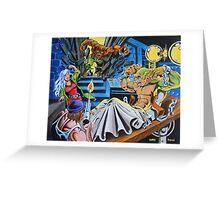 WEREWOLF ATTACKS Greeting Card