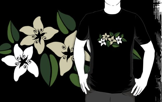 Tropical Flowers 2 by ACshirts