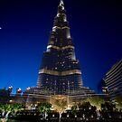 Burj Khalifa After Dark by Michael Powell