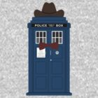Doctor Who cowboy stetson hat TARDIS eleventh doctor  by nouvellegamine