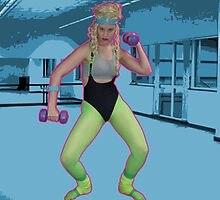 80's Work out by whitebaglady
