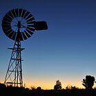 Windmill on dark by Jamie Shirlaw