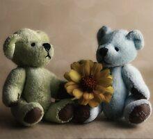If friends were flowers.... by Tam  Locke
