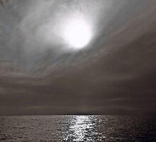Un sol  brilla tras la oscuridad........ by cieloverde