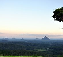 Glasshouse Mountains by STEPHANIE STENGEL | STELONATURE PHOTOGRAHY
