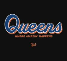 "VICT ""Queens is Amazin"" T-Shirt by Victorious"