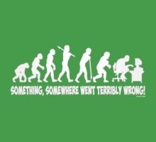 Something, somewhere went terribly wrong Kids Clothes