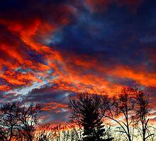 Sky On Fire by RobertSlate