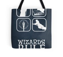 Wizards Rule Tote Bag