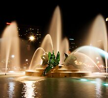 Logan Square fountain, Philadelphia by Eric Tsai