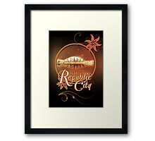 Lost My Heart In Republic City Framed Print