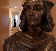 Bust in Convent of St George Gallery by SerenaB