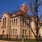Lampasas County Courthouse - Lampasas, Texas by Terence Russell