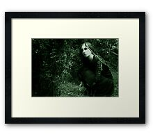 away from prying eyes Framed Print
