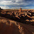 Classic Utah Desertscape by Robert Mullner