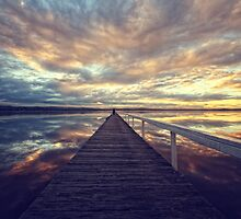 Long Jetty Sunset by Tam  Locke