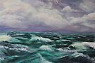 Storm At Sea by Mike Paget